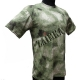 Украина - Одежда, Футболка камуфлированная A-TACS (зеленый) размер 48