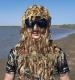 Zaimka.net - Одежда, Шлем-маска с сетки сухой камыш Лапша (под зимний головной убор)