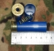 12к. - Снаряжение  патронов, Гильза пластмассовая 12 к 70мм под еврокапсюль Nobel Sport Италия 12 мм высота юпки, синяя