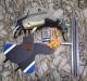 China - Муляжи, чучела, устройства и аксессуары, Селезень с вращающимися крыльями (Махокрыл с пультом)